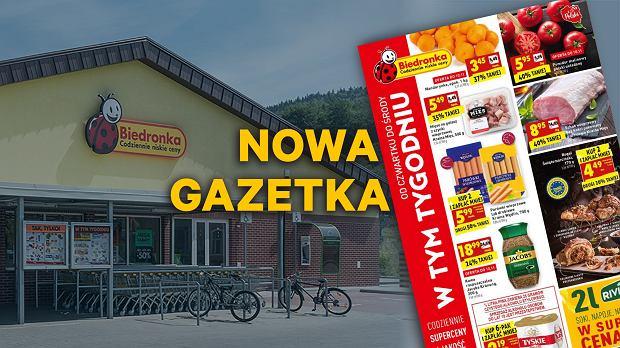 Gazetka Biedronka ważna od 08.11.2018 - tym razem promocja na rogale kupowane w parach