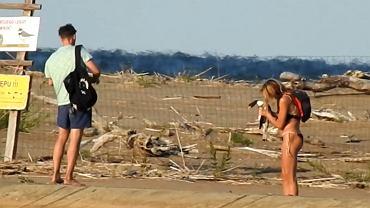 Turyści weszli na teren siedliska ptaków