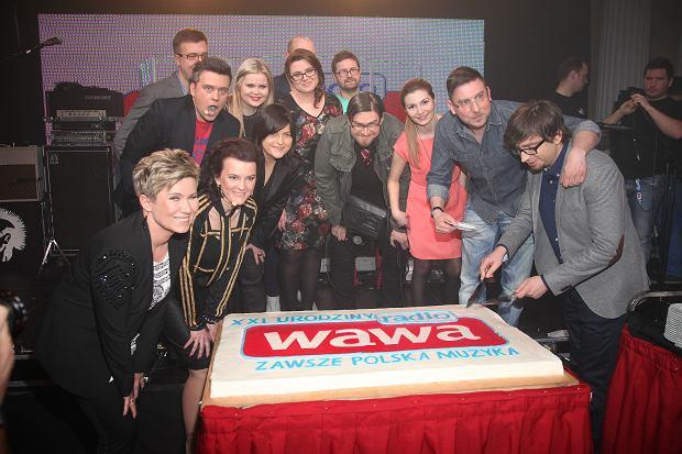 21 urodziny radia WAWA, Palac Prymasowski, 25.03.2013, fot. WBF