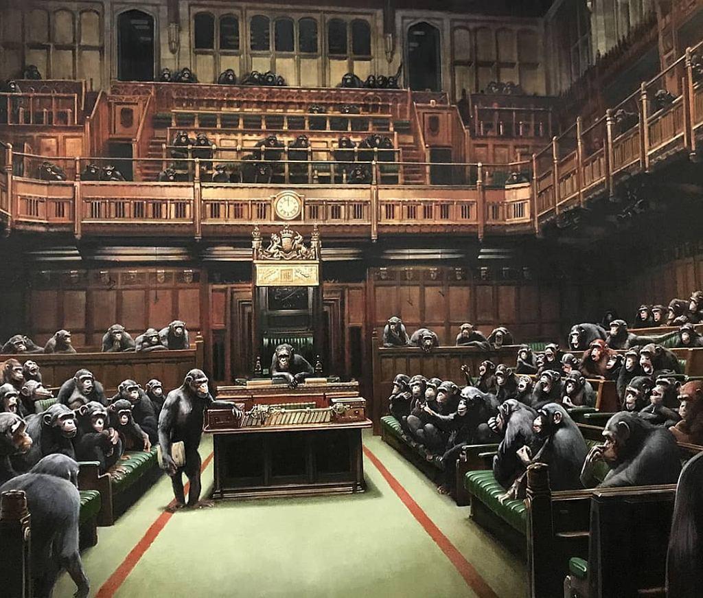Obraz Banksy'ego trafia na sprzedaż - ma szansę stać się jego najdroższym dziełem