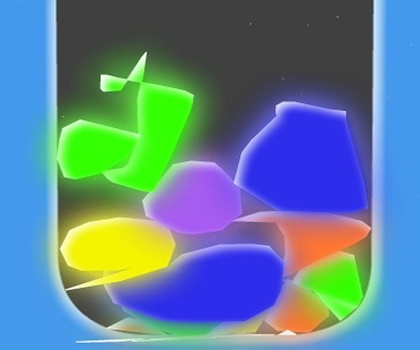 Kolorowe kamienie domowej roboty!