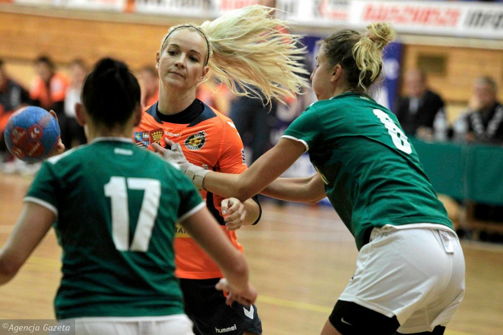 Marta Rosińska podczas meczu Korona Handball - MTS Żory