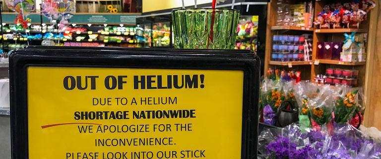 Na świecie brakuje helu. To poważne ryzyko dla nauki i medycyny