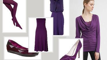 Ubrania w fioletowym kolorze - przegląd dla każdej z nas