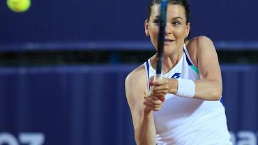 Agnieszka Radwańska w Bydgoszczy zagrała razem z Dawidem Celtem pokazowy mecz Envio Tennis Cup 2021, a wcześniej przeprowadziła trening dla szkółek tenisowych.