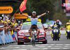 Jeden z faworytów odpadł z walki o triumf w Tour de France. Kwiatkowski też przeżywał trudne chwile