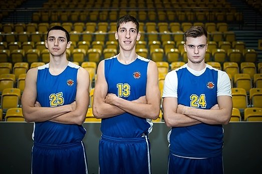 Djordje Kaplanovic, Maxim Morozov i Emir Ahmedovic
