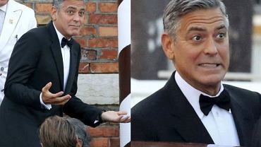 George Clooney w drodze na swój ślub
