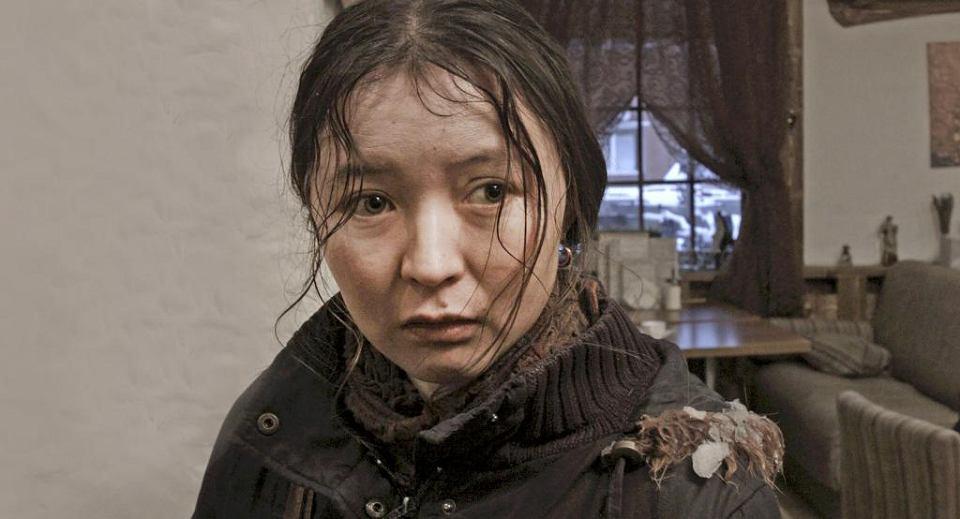 Samał Jesljamowa w  filmie Siergieja Dworcewoja 'Ajka'