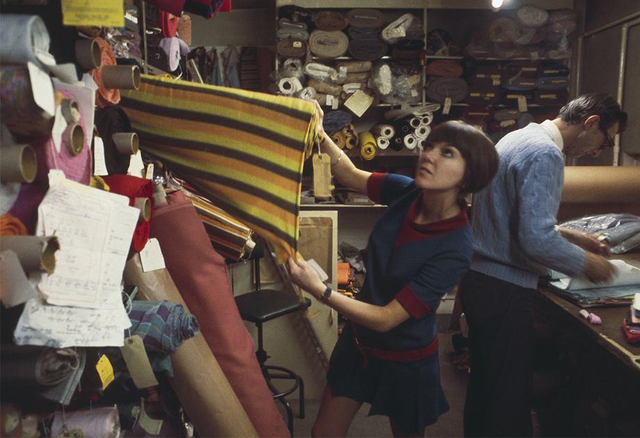 Ubrania Mary Quant były młodzieżowe i kolorowe