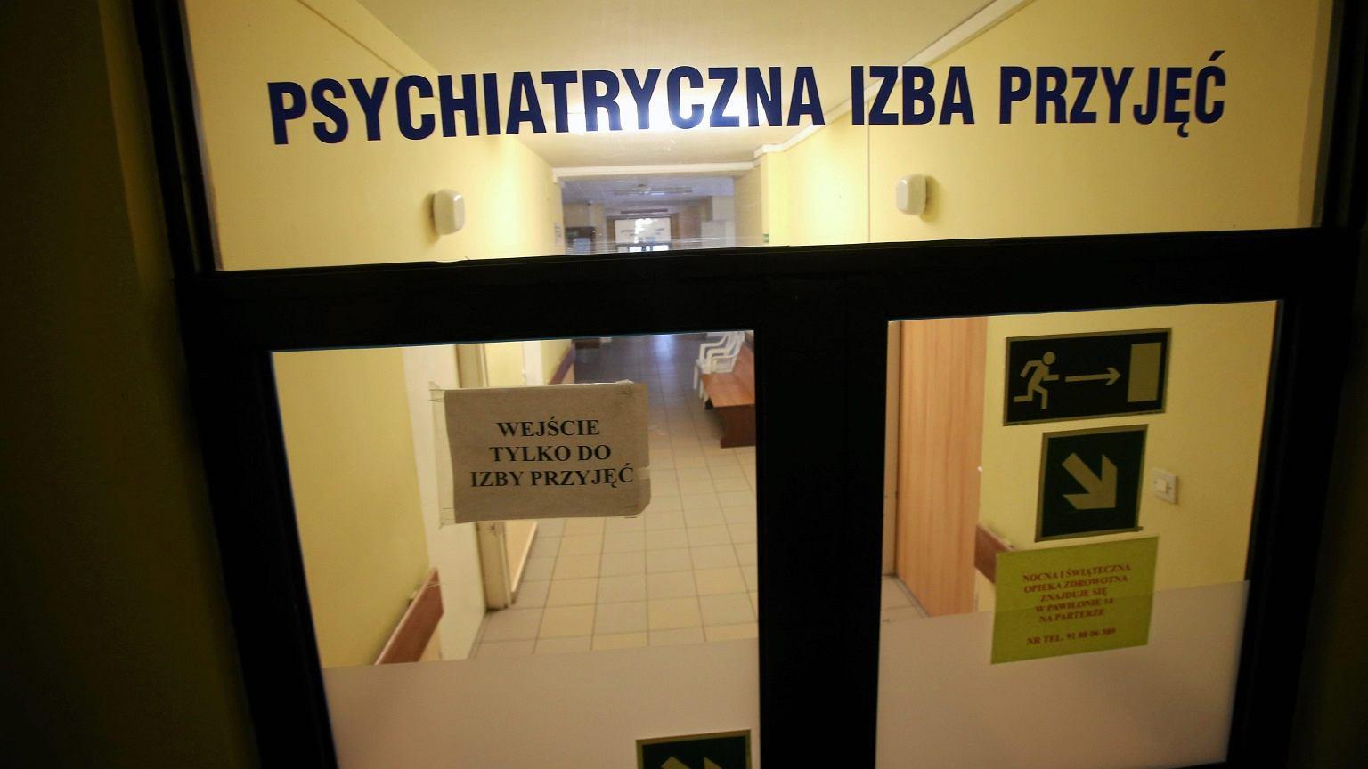 Psychiatryczna izba przyjęć
