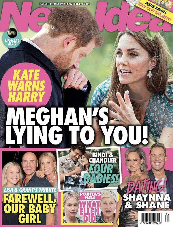 'New Idea', księżna Kate