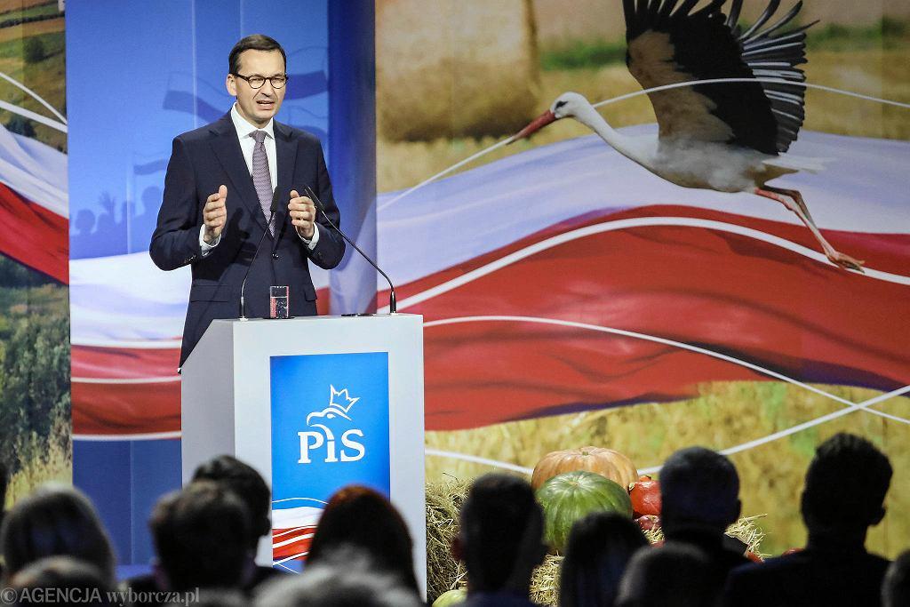 Wybory parlamentarne 2019. Konwencja PiS w Kielcach na temat wsi i rolnictwa