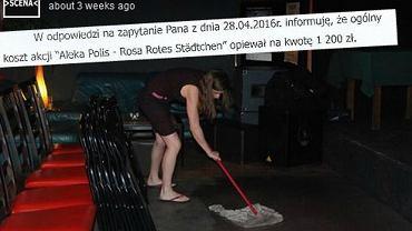Drogie sprzątanie