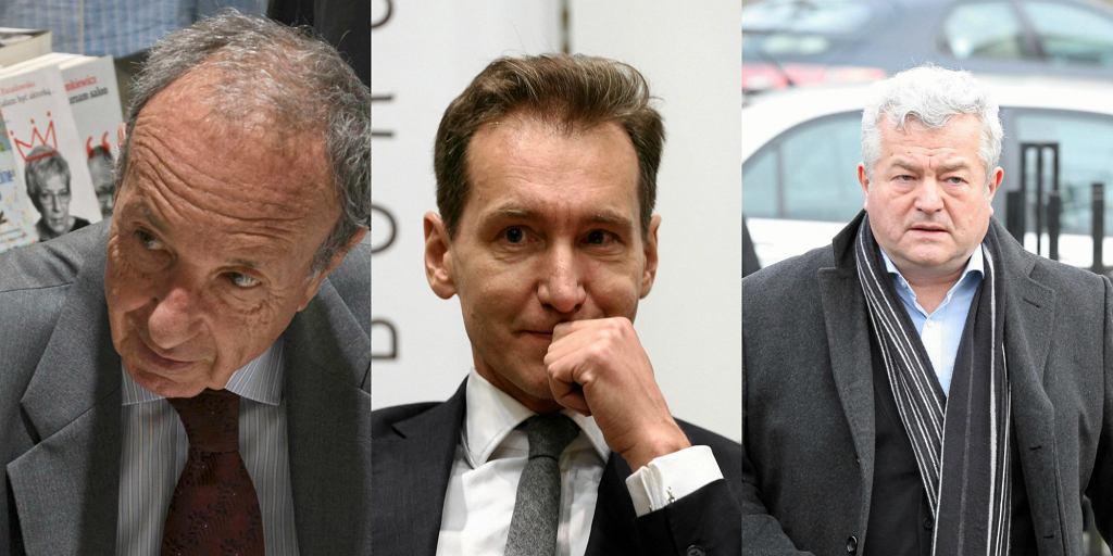 Daniel Passent, Piotr Kraśko, Jarosław Gugała
