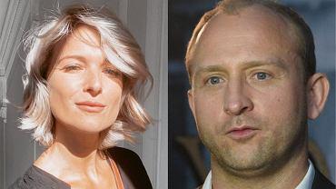 Justyna Nagłowska i Borys Szyc