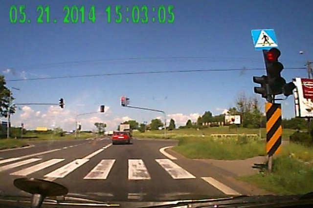 Na podstawie nagrania policja może nawet odebrać prawo jazdy
