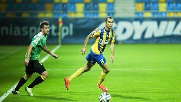 Marcus da Silva. Arka Gdynia - GKS Katowice 2:1