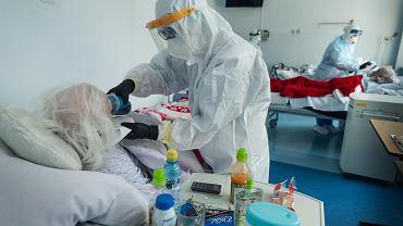 Koronawirus w szpitalu (zdjęcie ilustracyjne)