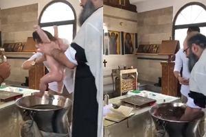 Skandal na chrzcinach. Rodzice byli przerażeni tym, jak ksiądz obchodził się z dzieckiem