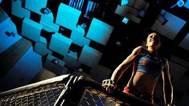 Joanna Jędrzejczyk na co dzień trenuje w klubie Arrachion MMA Olsztyn