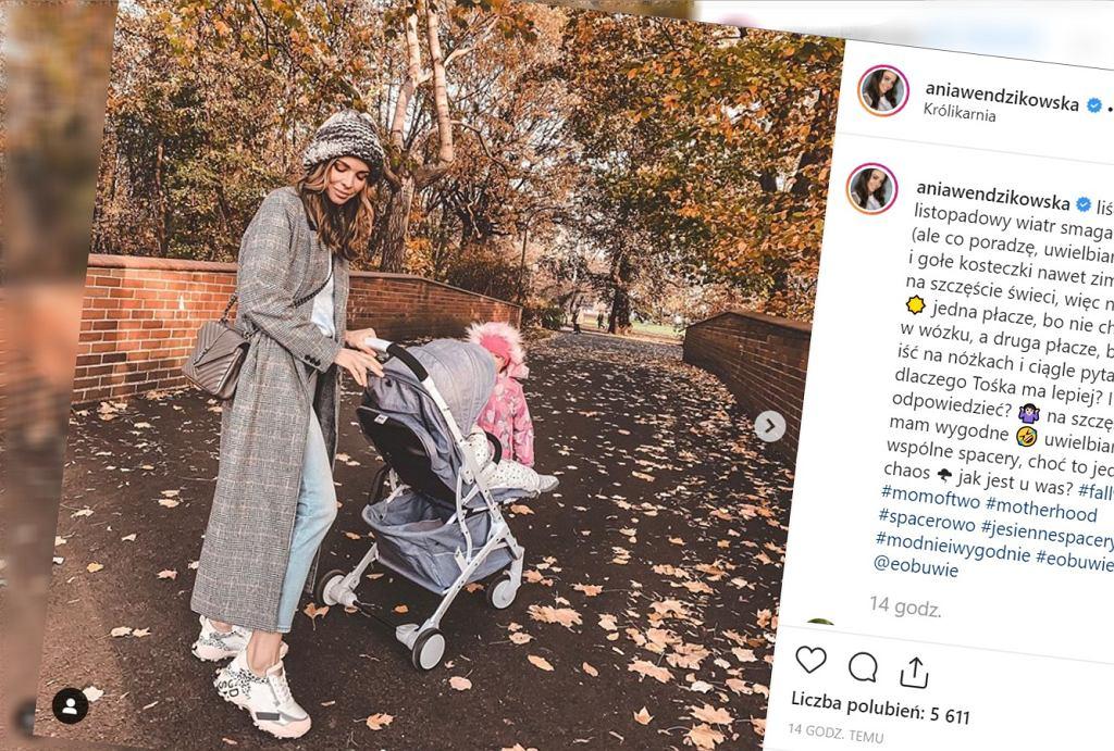 Anna Wendzikowska opisała, jak wyglądał jej spacer z dziećmi