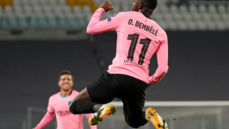 Juventus strzelił trzy gole, Barcelona dwa, ale to goście wygrali hit LM! Szczęsny bez szans