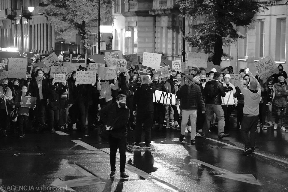 Strajk kobiet w czwartek, wymarsz z parkingu Włodkowica