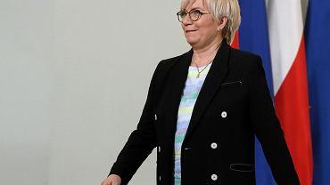 Prezes Trybunału Konstytucyjnego Julia Przyłębska, Pałac Prezydencki, Warszawa 04.06.2019