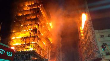 Zawalenie wieżowca w Sao Paulo