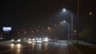 Doświetlone przejścia dla pieszych na ul. św. Wincentego