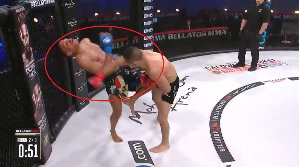 Brutalny nokaut podczas gali Bellator 252