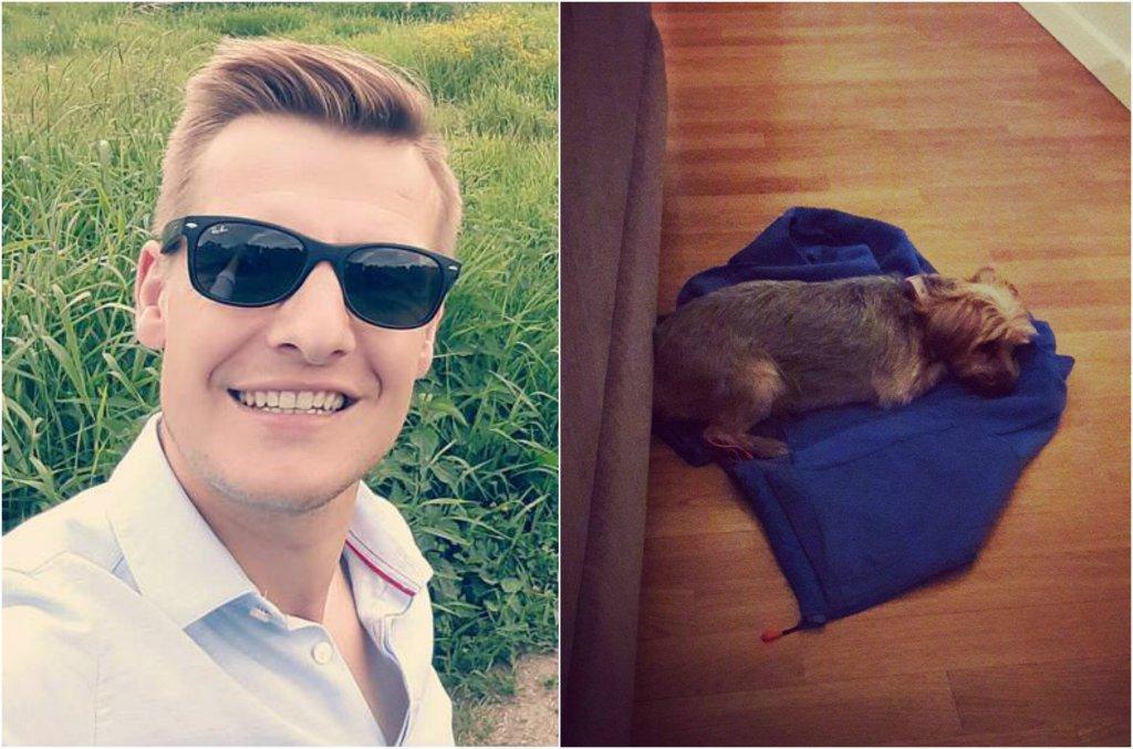 Rafał Mroczek pokazał na Instagramie swoje mieszkanie. Aktor jest właścicielem dwóch adoptowanych psów, które mieszkają z nim. Zobaczcie, jak się urządził.