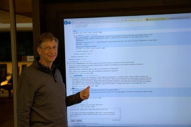 źródło: reddit/Bill Gates
