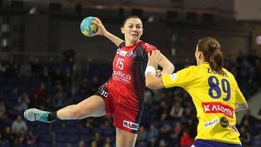 Małgorzata Stasiak rzuciła sześć bramek dla Pogoni Baltica Szczecin