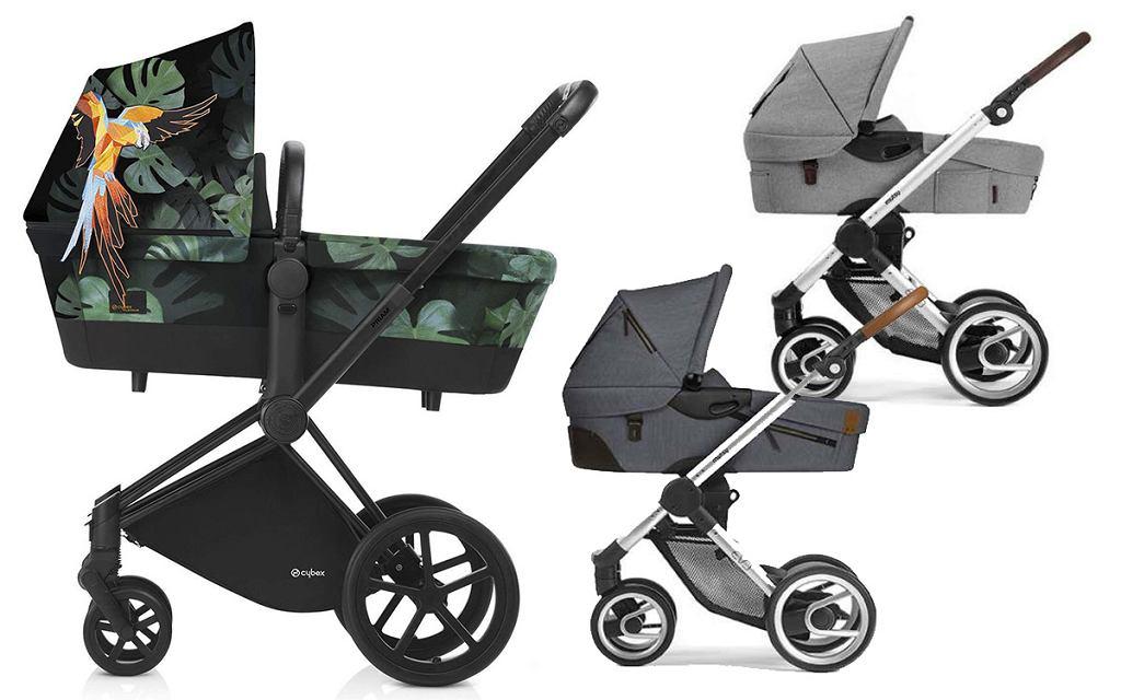 Gondola dla niemowlaka - wózek głęboki