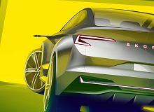 Skoda Vision iV Concept - Skoda zapowiada elektrycznego crossovera. Pokazano szkic wnętrza