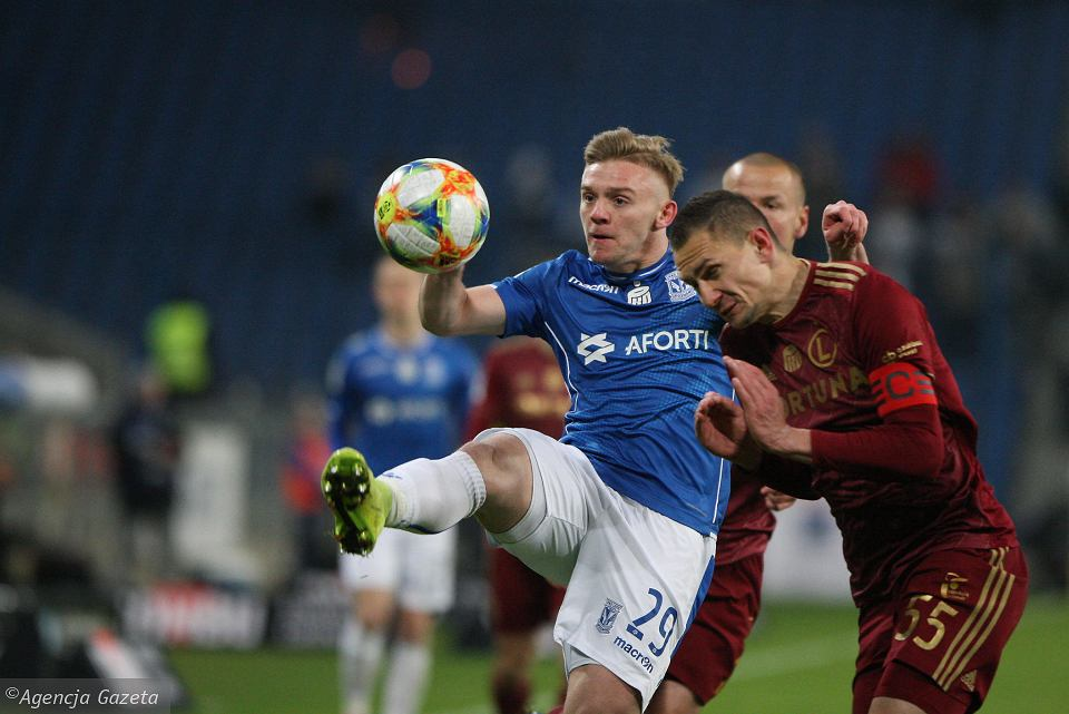 Lech Poznań - Legia Warszawa 2:0. Kamil Jóźwiak
