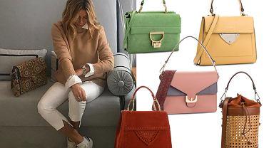 Kolaż, torebki Coccinelle/Materiały partnerawww.instagram.com/m_rozenek
