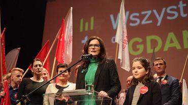 Wybory w Gdańsku, 3 marca 2019. Sztab wyborczy Aleksandry Dulkiewicz