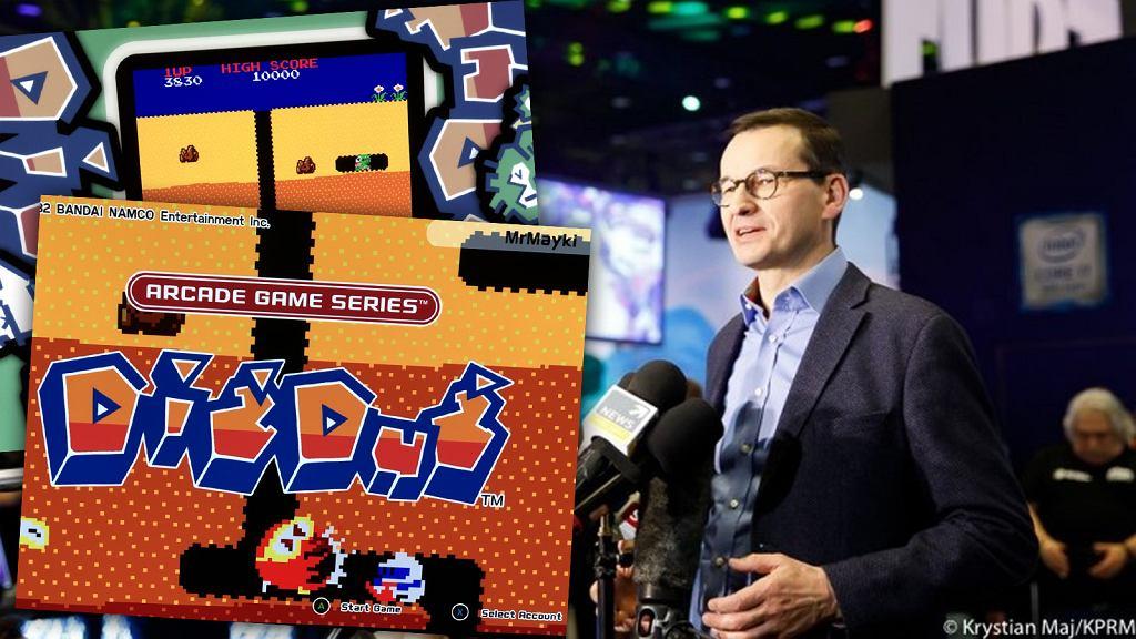 Dig Dug to ulubiona gra Mateusza Morawieckiego