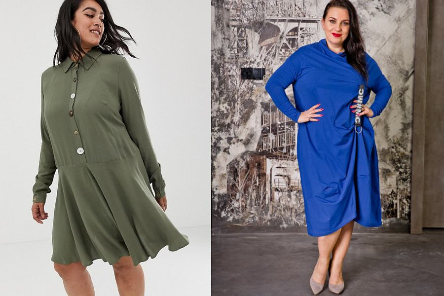 Modne sukienki duże rozmiary