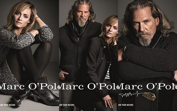 Jeff Bridges i Amber Valetta twarzami kampanii Marc O'Polo jesień-zima 2013/14