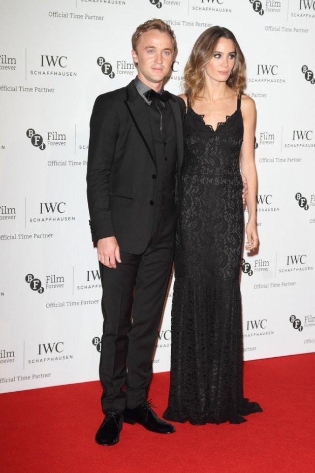 Tom Felton i Jade Olivia