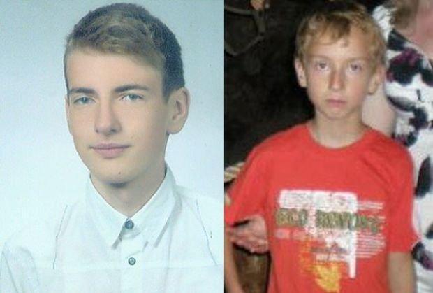 Marcin 15 lat i Paweł 12 lat