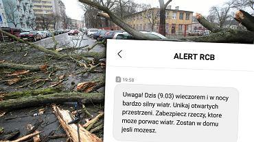Wichury przechodzą przez Polskę