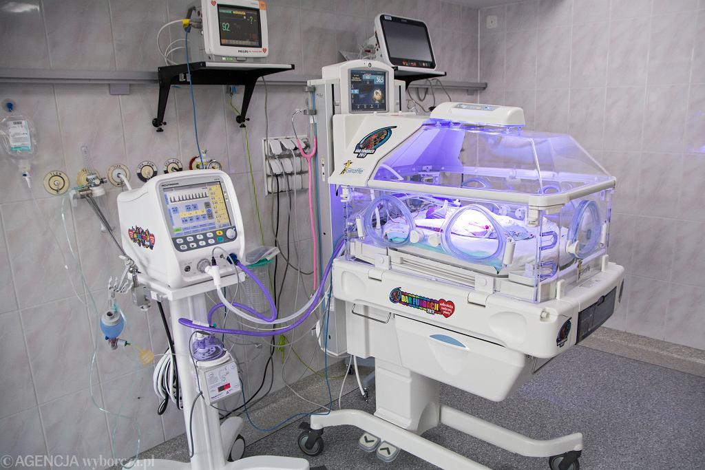 Wielka Orkiestra Świątecznej Pomocy jest fundatorem wielu inkubatorów w polskich szpitalach