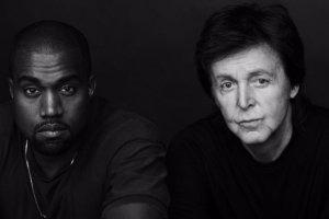 Kanye West i Paul McCartney