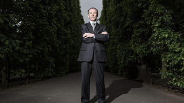 Michał Marusik, polski europoseł i przewodniczący Kongresu Nowej Prawicy. Założycielem partii i jej poprzednim szefem i był Janusz Korwin-Mikke.