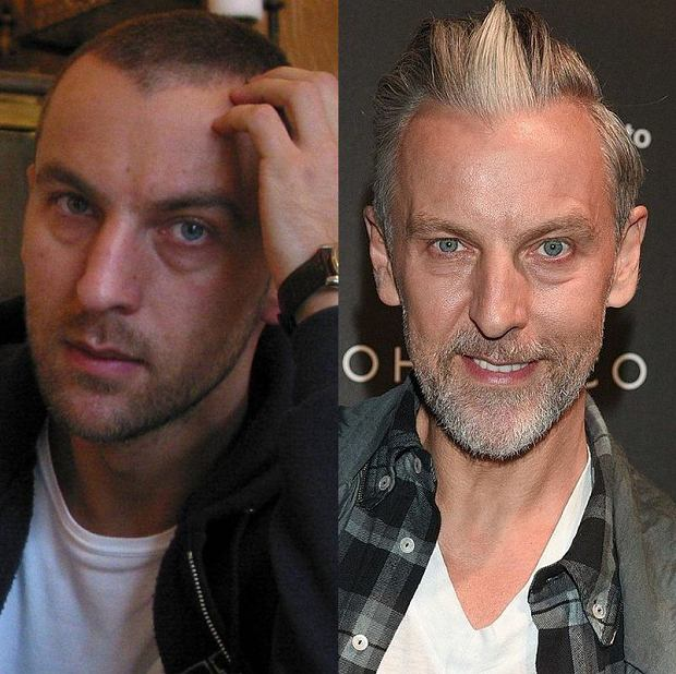 Robert Kupisz w 2005 i 2015 roku